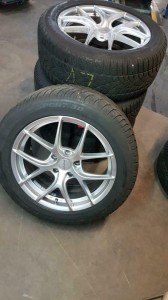 Winterbanden set BMW X3 F25 245/50R18 runflat 6.0/6.0/6.0/5.5mm  98ZLP2