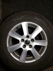 Winterbanden set Volvo XC70 215/65R16 6.0/5.0/4.5/6.0mm 22SPGL