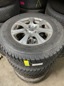 Winterbanden set  Chevrolet Captiva 225/70R16 7.5/7.0/6.0/5.0mm 09ZHFJ