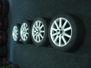 Winterbanden set   LEXUS GS 300 4.5/4.5/4.0/4.0mm 45TGPJ